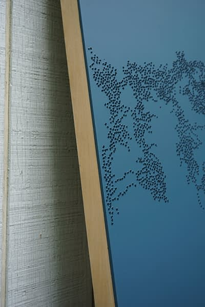 Inscape Series (Fenghuang #2, Deep Blue) - Detail
