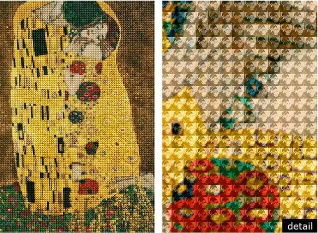 Kiss You in Vienna, After Klimt